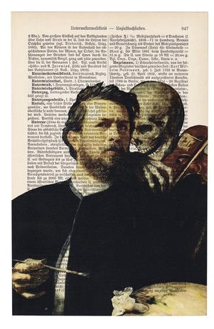 "Art On Words: Arnold Bocklin, ""Self-Portrait with Death Playing the Fiddle"""