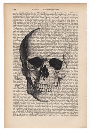 "Art On Words: ""Skull"""