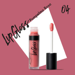 Purobio - Lipgloss n. 04 Pompelmo rosa
