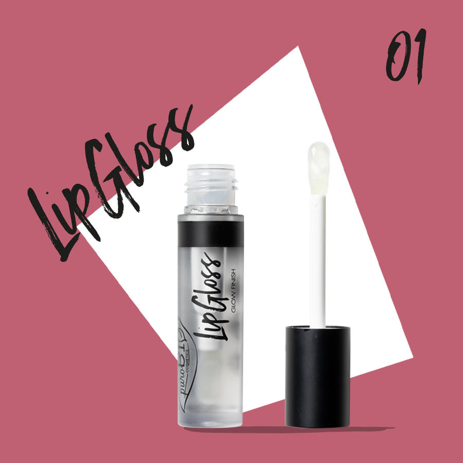 Purobio - Lipgloss n. 01 Trasparente
