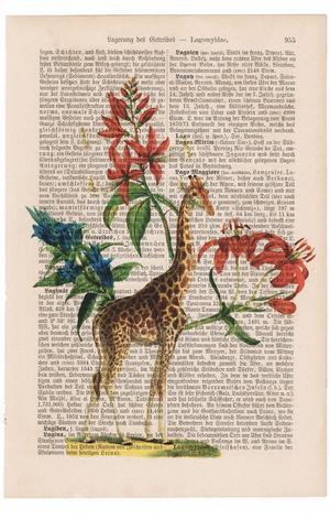 """Art On Words: """"Flower Giraffe"""""""