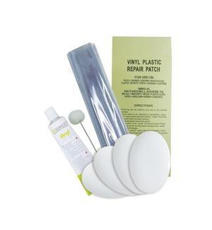 Kit Riparazione Piscina Colla da 30 ml + Toppa + Applicatore