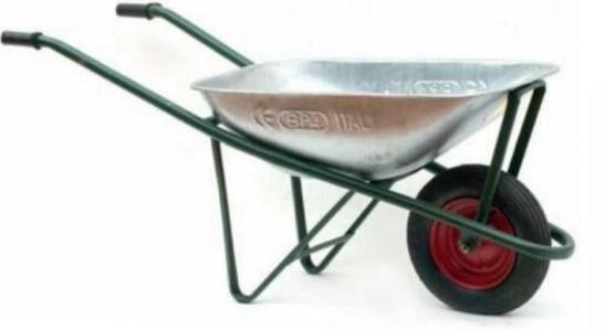 Carriola Normale per giardinaggio e trasporto  - carriola ruota foto indicativa