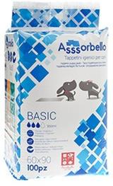 Assorbello Tappetini - Traversine 60x90 - 100 pz. - 2 conf. - spedizione compresa