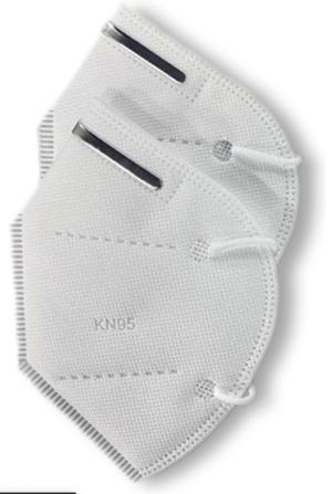 2 pezzi - Mascherina certificata FFP2 - KN95
