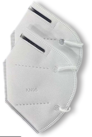 Mascherina certificata FFP2 - KN95 - 2 pezzi