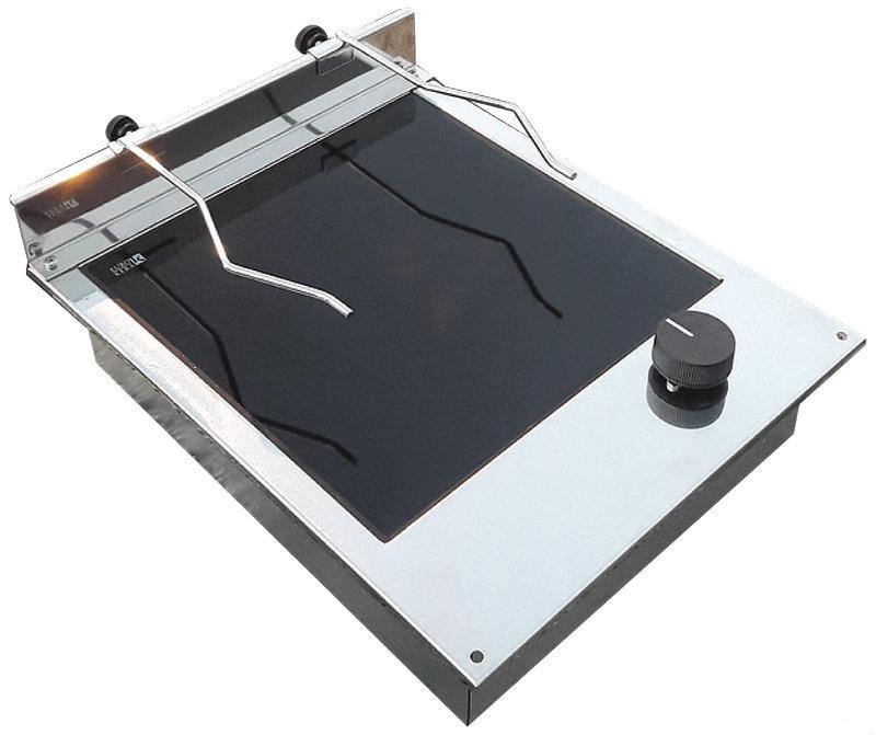 Piano Cottura Vetroceramica 1+1 Fuoco - Offerta di Mondo nautica 24
