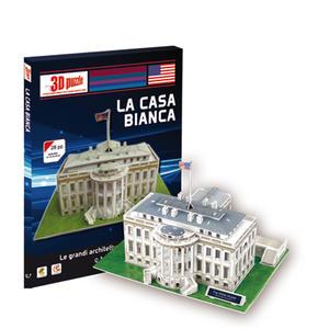 Puzzle 3 D La Casa Bianca