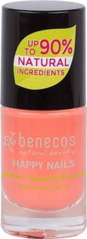 Benecos Happy Nails Smalto - Peach Sorbet 5 ml