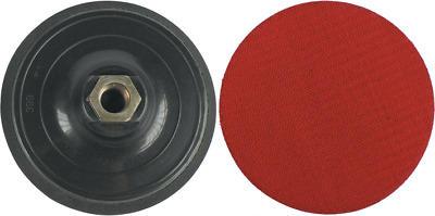Platorello per smerigliatrice 115mm in polipropilene con velcro Maurer