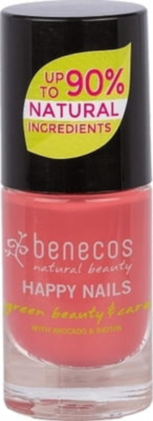 Benecos Happy Nails Smalto - Flamingo