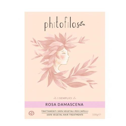 Rosa Damascena polvere viso e capelli