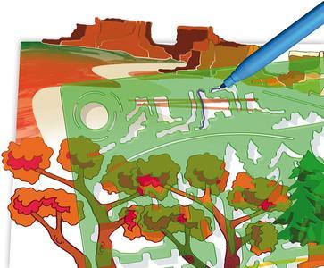 Sagome Landscapes - Quercetti 2616 - 4-8 anni