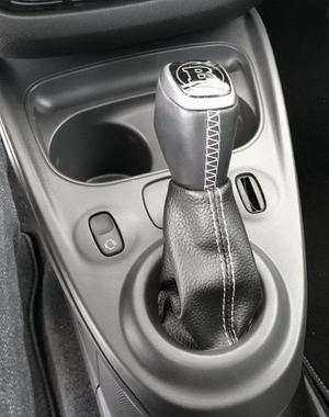 Shift boot for Smart ForTwo - ForFour New in Eco leather with colored stitching