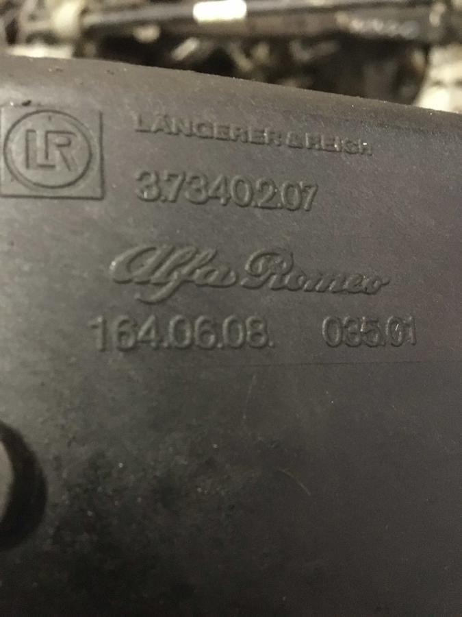 Radiatore Intercooler Alfa Romeo 164 - 37340207
