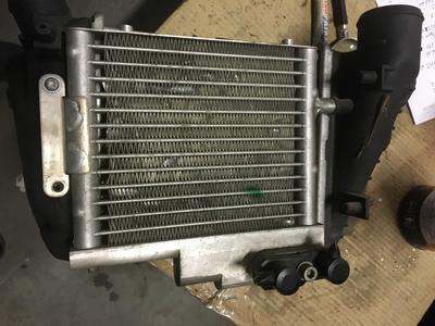 Radiatore Intercooler Audi A4 - 8E0145805P con Radiatore Olio - 8E0317021A