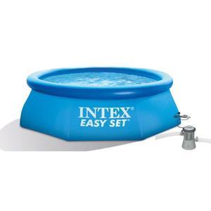 Piscina Easy Diam. 366 x h 76 cm con Pompa Filtro Intex