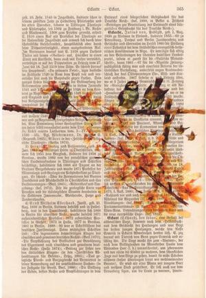 """Art On Words: """"Three Little Birds"""""""