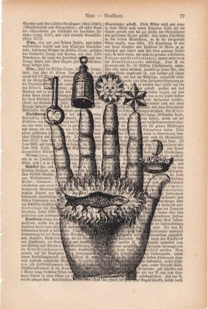 "Art On Words:""Alchemist's Hand"""