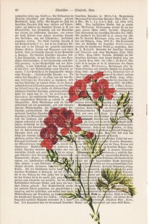 """Art On Words:""""Wild Flower"""""""