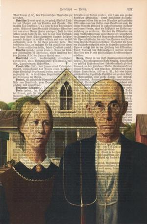 "Art On Words: Grant Wood ""American Gothic"""