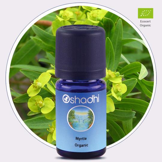 Oshadhi - Mirto olio essenziale bio