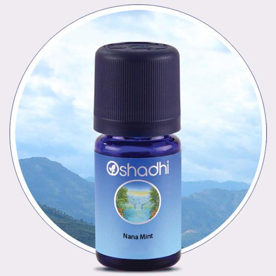 Oshadhi - Menta verde (nana) olio essenziale