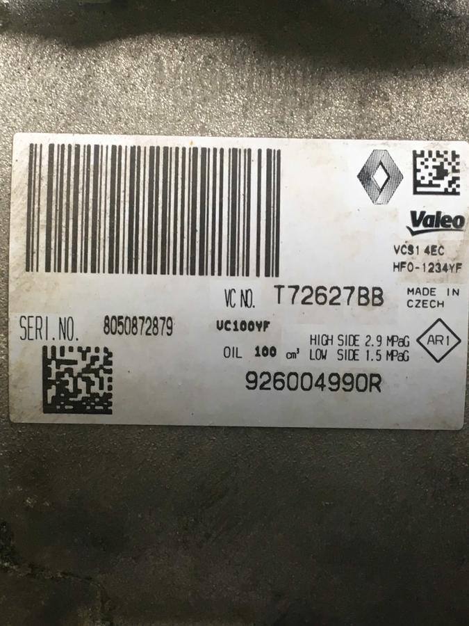 Compressore climatizzatore A/C Renault - 926004990R