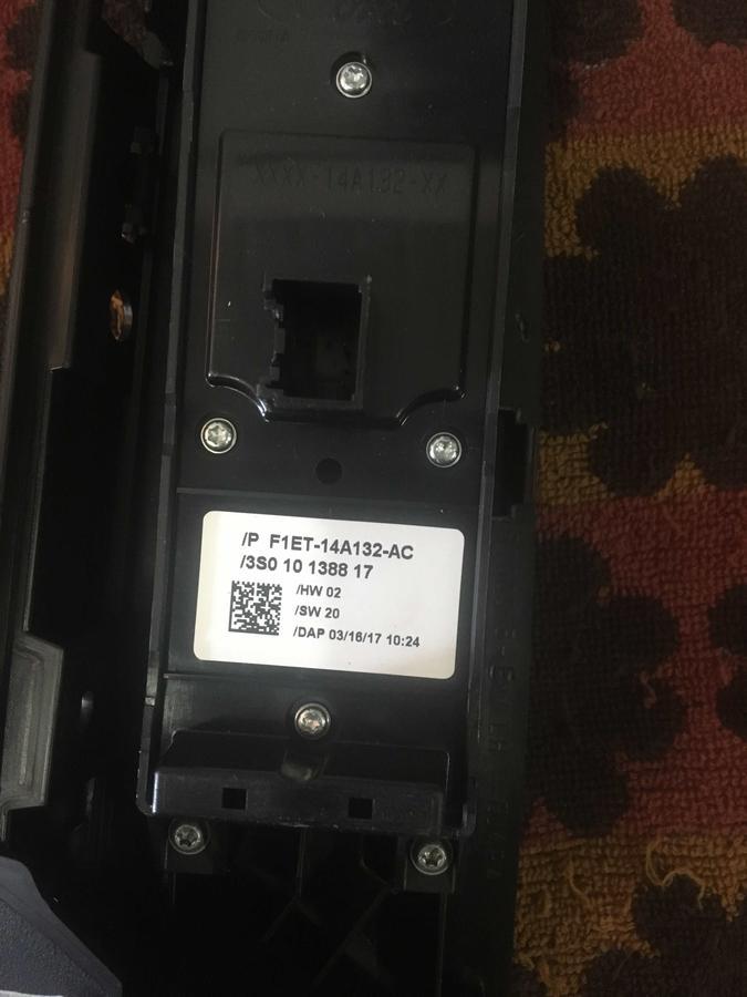 Pulsantiera Alzacristalli Porta Ford B-Max - F1ET-14A132-AC