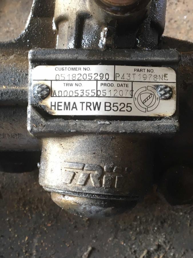 Scatola Sterzo Fiat Dobló - 37502380