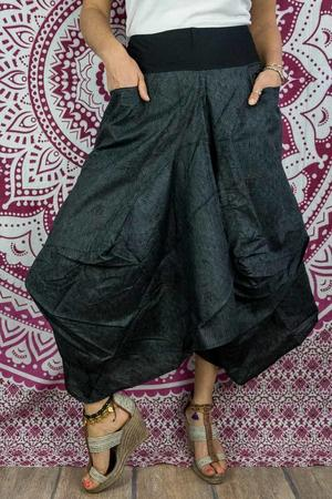 Bag long skirt Dhara - dark gray
