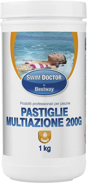 Cloro Pastiglie Multi Action da 200 gr Disponibile nei formati 1 - 5 - 10 Kg
