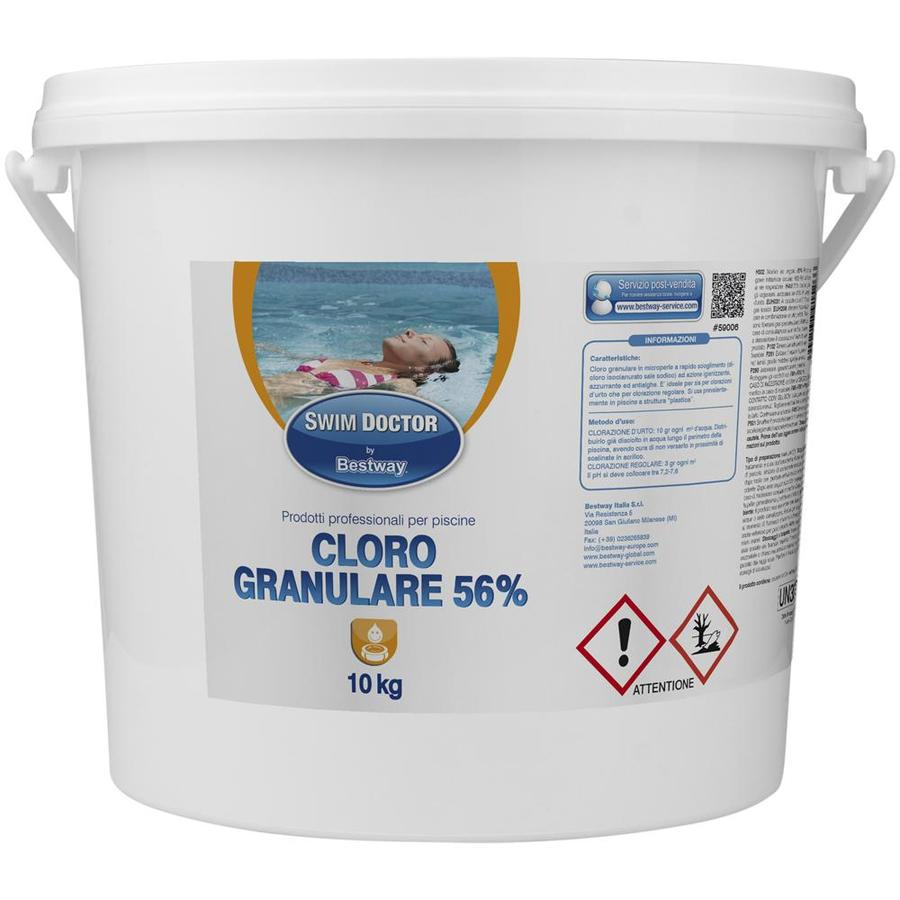 Cloro Granulare 56 % Disponibile nei formati 1 - 5 - 10 Kg