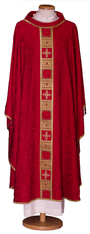 Chasuble with stolon