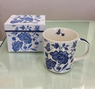 PPD TREND MUG IN PORCELLANA con scatola decorata: PRINCESS' PEONY