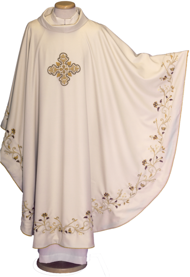 100% wool chasuble