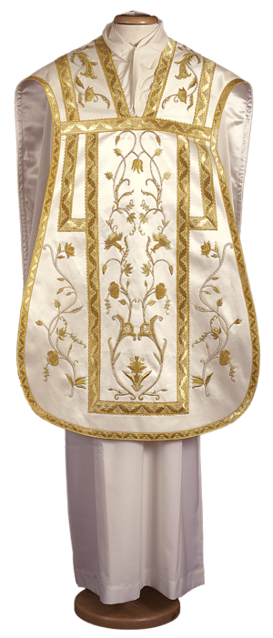 Pianeta chasuble, hand embroidered Cod. 65/GM0027