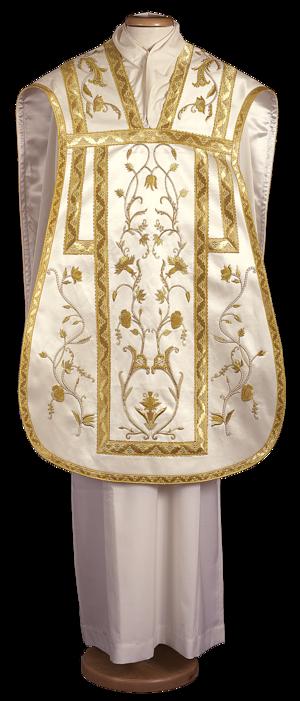 Pianeta chasuble, hand embroidered Cod. 65/GM0027