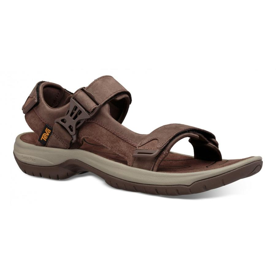 Teva - Tanway  Leather-   Chocolate Brown