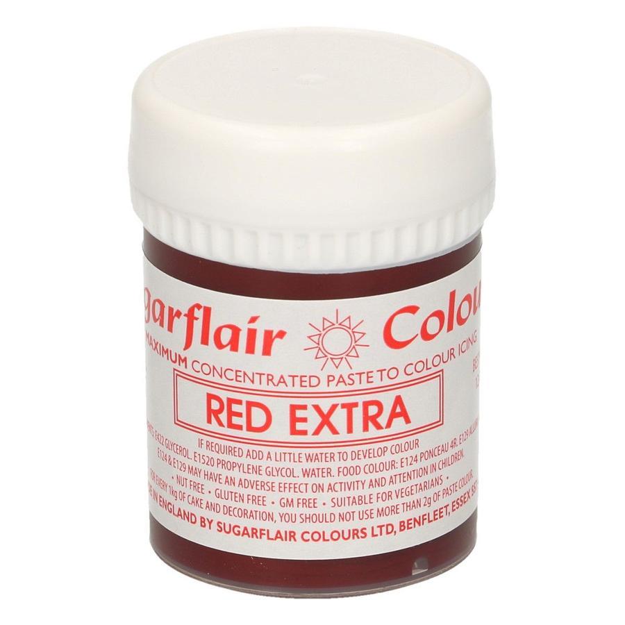 colore alimentare extra concentrato rosso Sugarflair