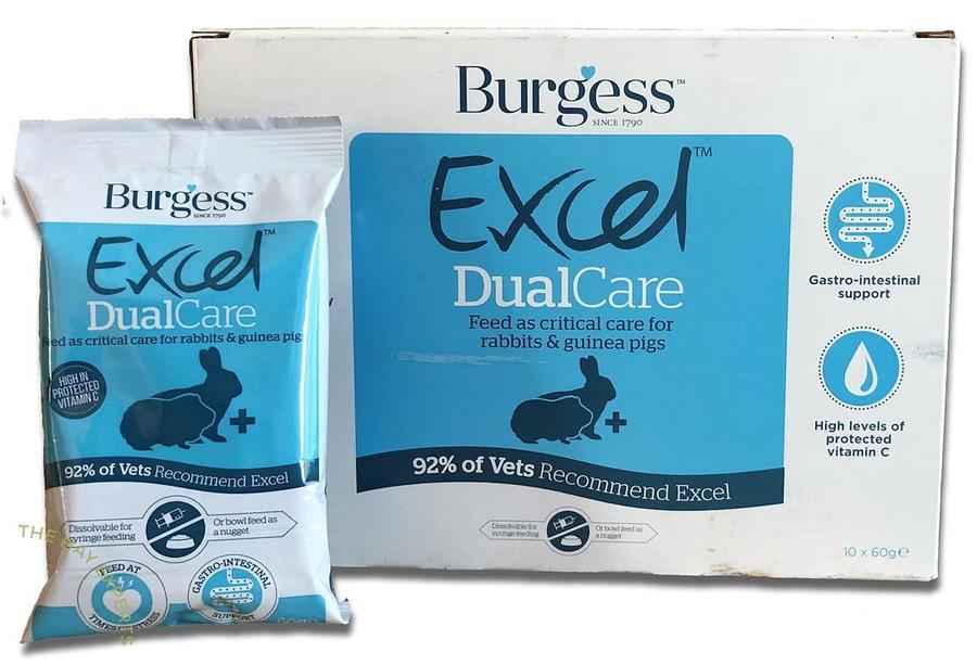 Burgess Excel Dualcare - Busta da 60 gr.