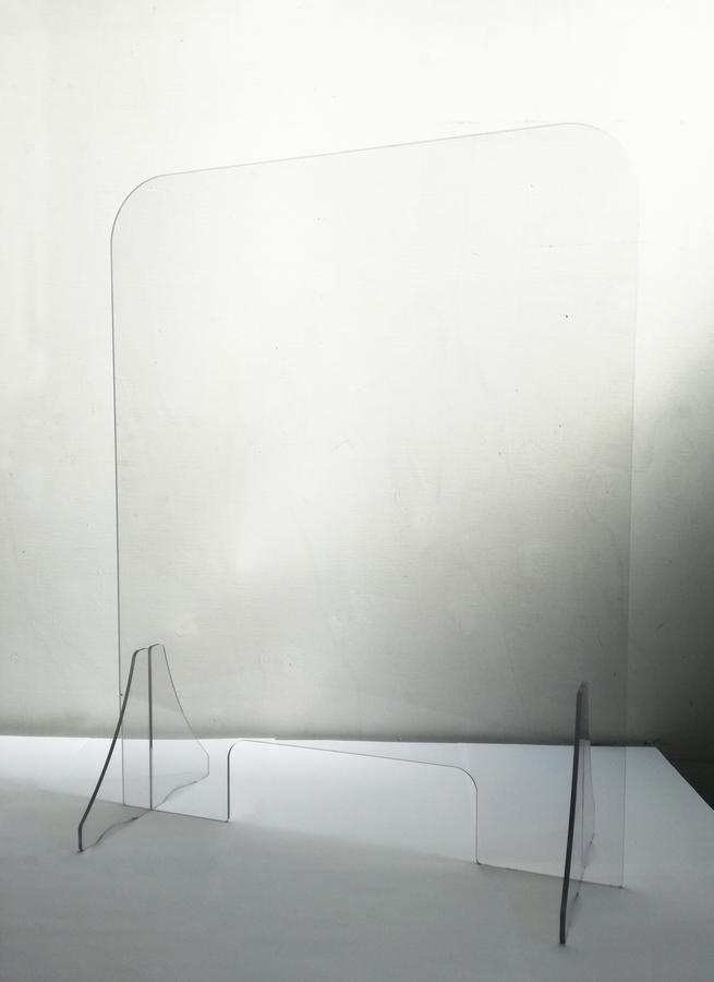 Barriera protettiva in policarbonato Strong 60x75cm - Spessore 5 mm