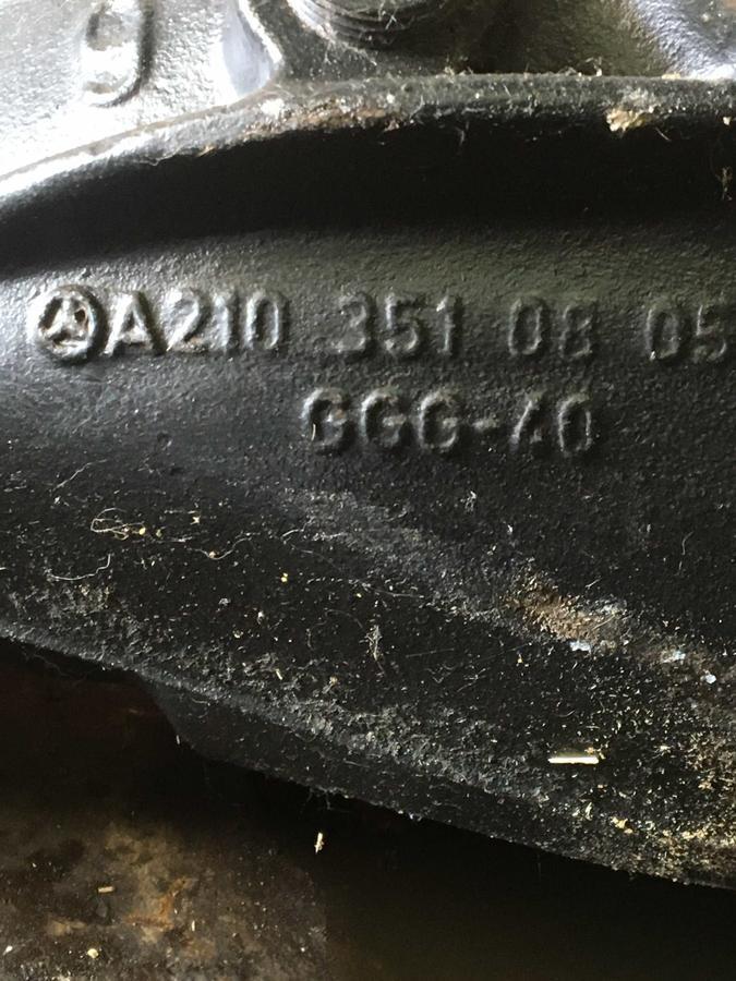Differenziale Posteriore Mercedes 203 / 220cdi - A2103510805