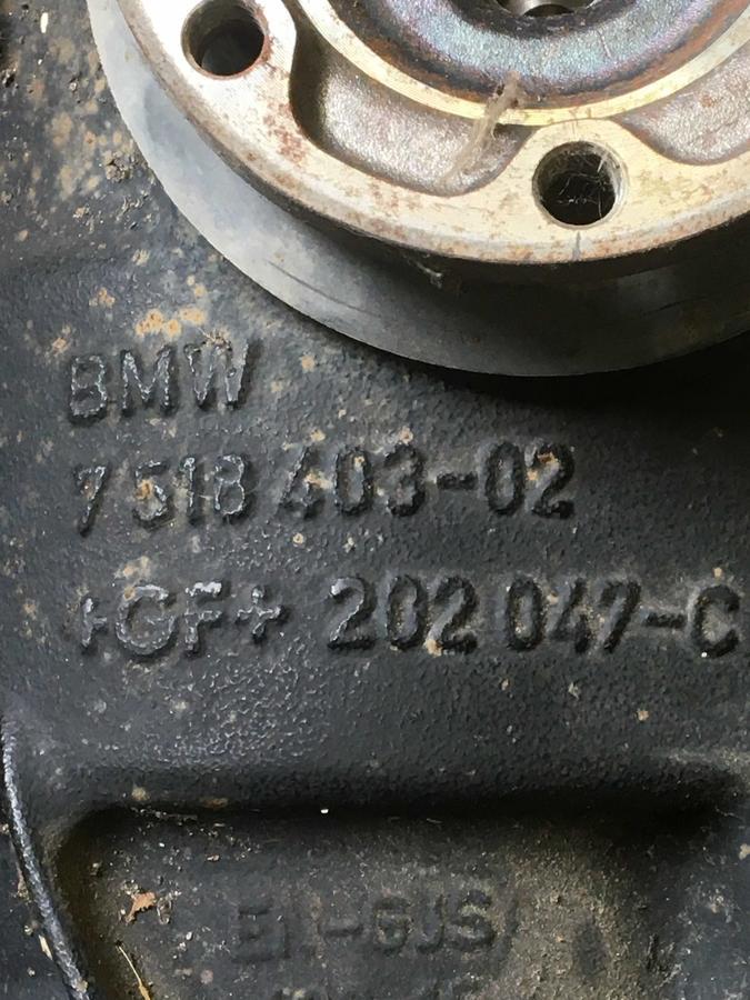 Differenziale Posteriore BMW 320 TD - 751840302