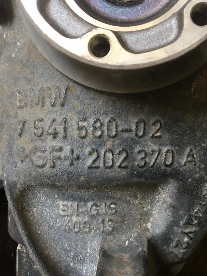 Differenziale Posteriore BMW S1/S3 F20/F30  - 754158002 - 7541580-02 - GF202370B