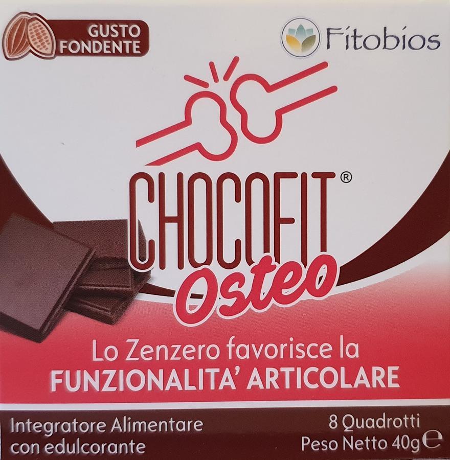 CHOCOFIT OSTEO - Antinfiammatorio, antidolorifico, ricostituente della cartilagine - cioccolatino