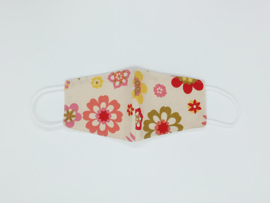 Mascherina lavabile per bambini (6-9 anni) - 100% cotone - Varie fantasie