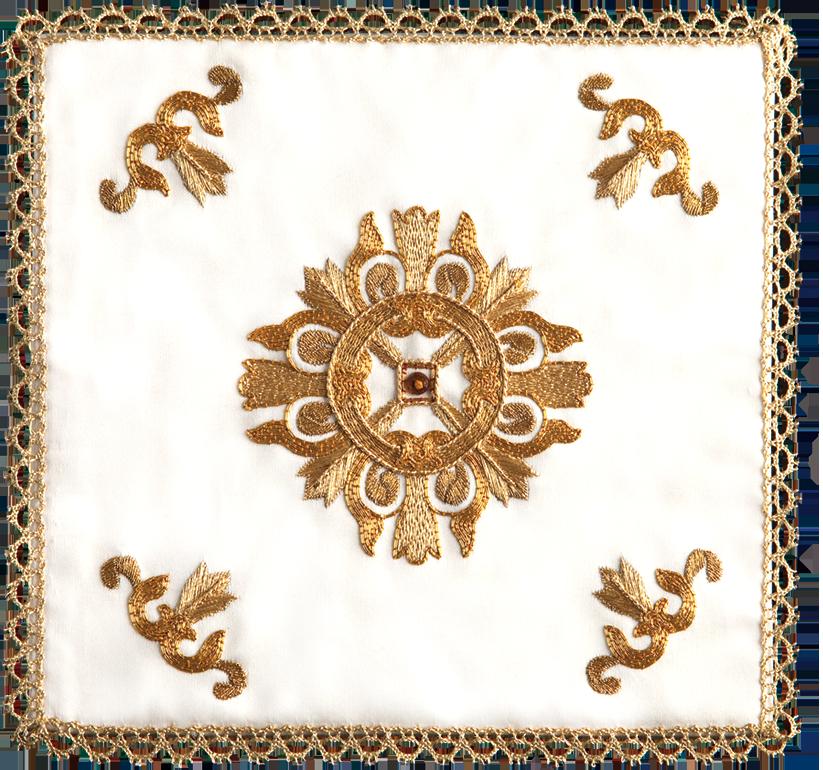Copricalice in seta cotone