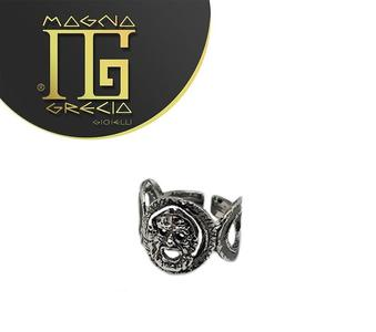 Anello Maschera Maschera Magna Grecia