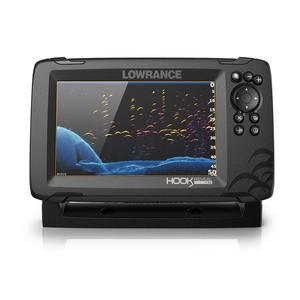 Ecoscandaglio GPS Lowrance Reveal 7 con Trasduttore 83/200 HDI & Mappa Base - Offerta di Mondo Nautica 24